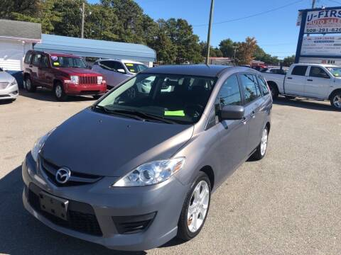 2010 Mazda MAZDA5 for sale at U FIRST AUTO SALES LLC in East Wareham MA
