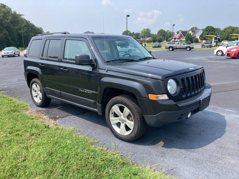 2016 Jeep Patriot for sale at McCully's Automotive - Trucks & SUV's in Benton KY