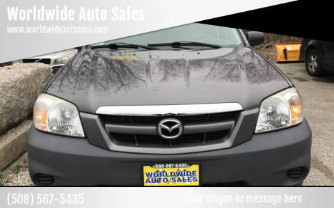 2005 Mazda Tribute for sale at Worldwide Auto Sales in Fall River MA