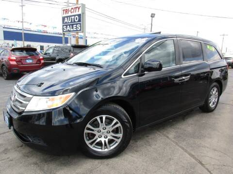 2011 Honda Odyssey for sale at TRI CITY AUTO SALES LLC in Menasha WI
