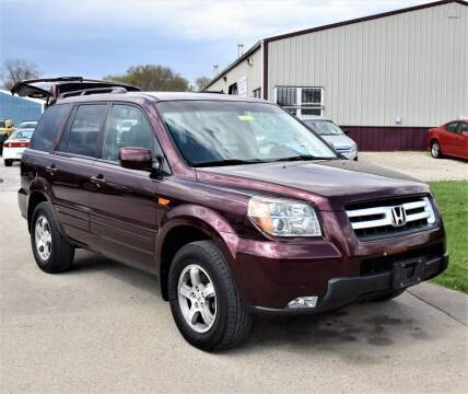 2007 Honda Pilot for sale at PINNACLE ROAD AUTOMOTIVE LLC in Moraine OH