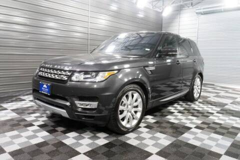 2017 Land Rover Range Rover Sport for sale at TRUST AUTO in Sykesville MD