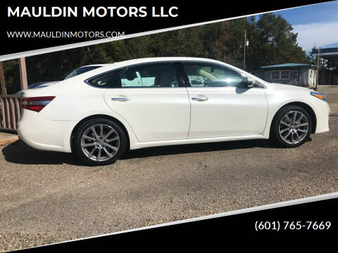 2014 Toyota Avalon for sale at MAULDIN MOTORS LLC in Sumrall MS