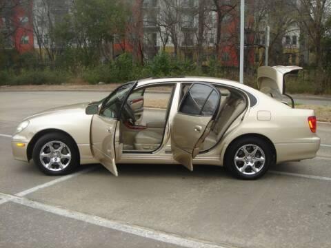 2004 Lexus GS 300 for sale at ACH AutoHaus in Dallas TX
