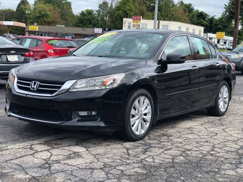 2014 Honda Accord for sale at Apex Knox Auto in Knoxville TN