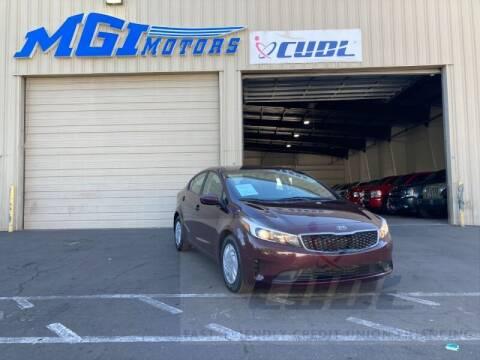 2018 Kia Forte for sale at MGI Motors in Sacramento CA