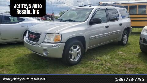 2005 GMC Envoy XL for sale at Jeffreys Auto Resale, Inc in Clinton Township MI