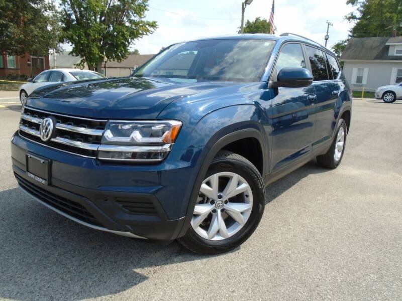 2019 Volkswagen Atlas for sale at Total Eclipse Auto Sales & Service in Red Bud IL