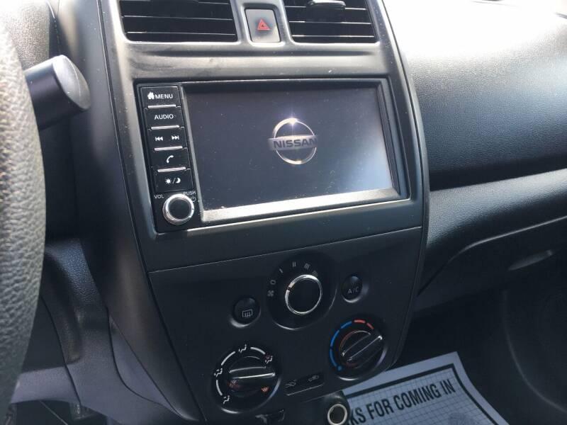 2018 Nissan Versa S Plus 4dr Sedan (midyear release) - Murphysboro IL