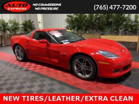 2013 Chevrolet Corvette for sale at Auto Express in Lafayette IN