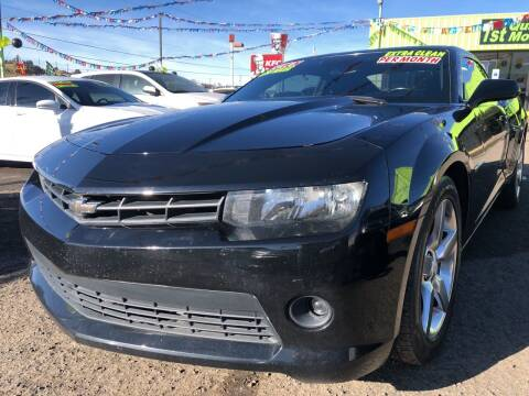 2014 Chevrolet Camaro for sale at 1st Quality Motors LLC in Gallup NM