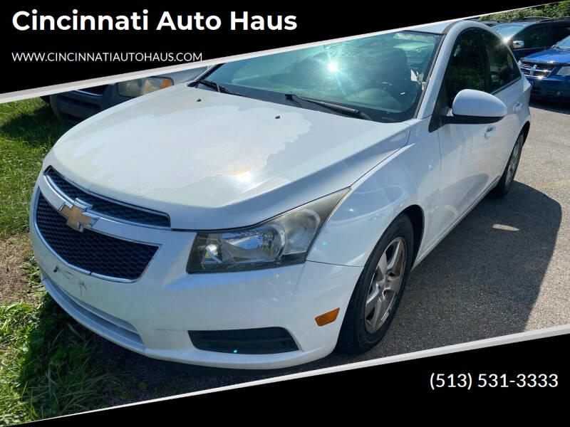 2013 Chevrolet Cruze for sale at Cincinnati Auto Haus in Cincinnati OH
