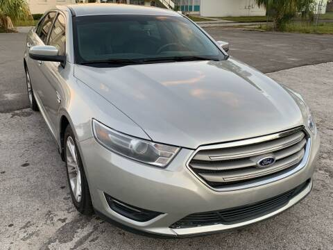 2014 Ford Taurus for sale at Consumer Auto Credit in Tampa FL