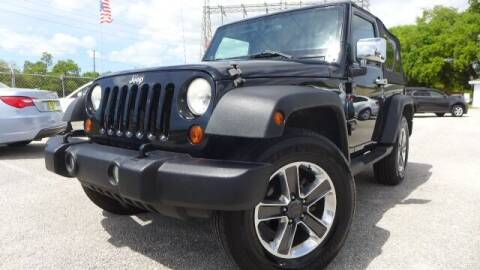 2011 Jeep Wrangler for sale at Das Autohaus Quality Used Cars in Clearwater FL