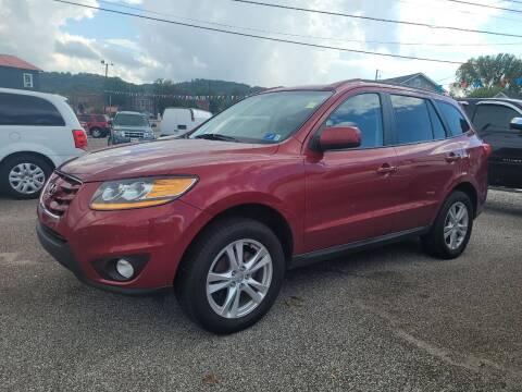 2010 Hyundai Santa Fe for sale at Sissonville Used Car Inc. in South Charleston WV