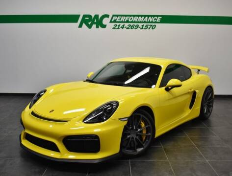 2016 Porsche Cayman for sale at RAC Performance in Carrollton TX