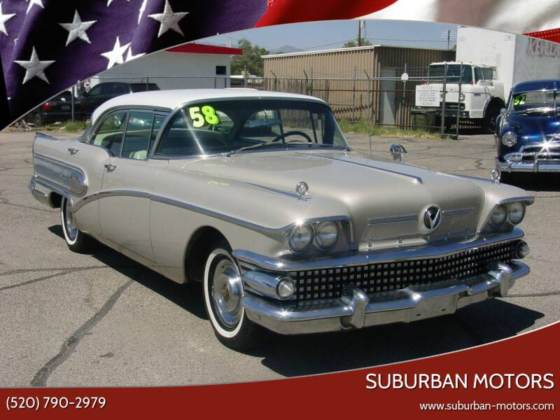 1958 Buick SPECIAL 4 DOOR HARD TOP for sale at Suburban Motors in Tucson AZ
