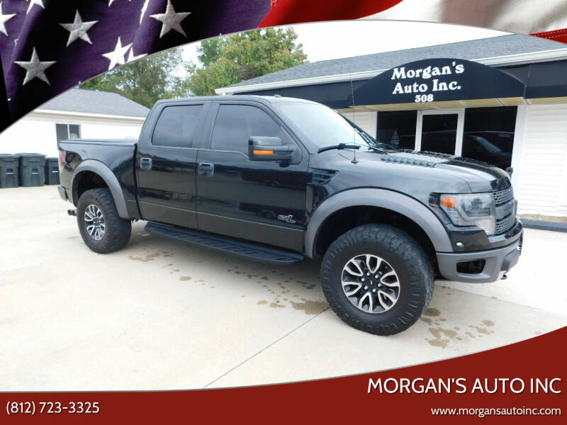 2014 Ford F-150 for sale at Morgan's Auto Inc in Paoli IN