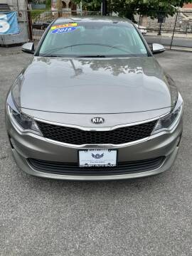 2016 Kia Optima for sale at Concept Auto Group in Yonkers NY