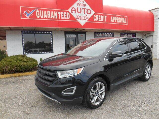 2016 Ford Edge for sale at Oak Park Auto Sales in Oak Park MI