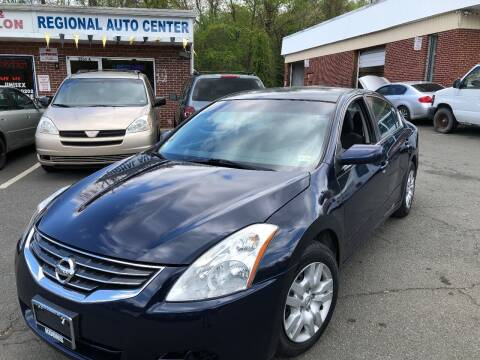 2011 Nissan Altima for sale at REGIONAL AUTO CENTER in Stafford VA