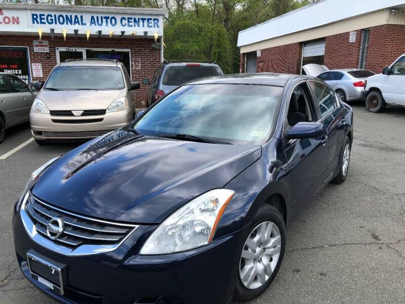 2011 Nissan Altima for sale at REGIONAL AUTO CENTER in Stafford VA