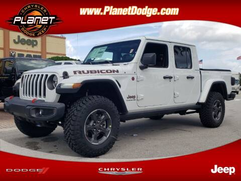 2020 Jeep Gladiator for sale at PLANET DODGE CHRYSLER JEEP in Miami FL