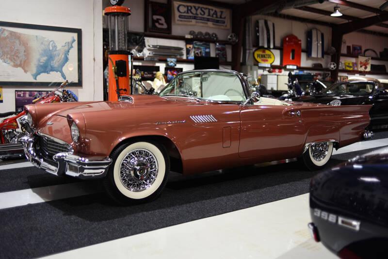 1957 Ford Thunderbird for sale at Crystal Motorsports in Homosassa FL