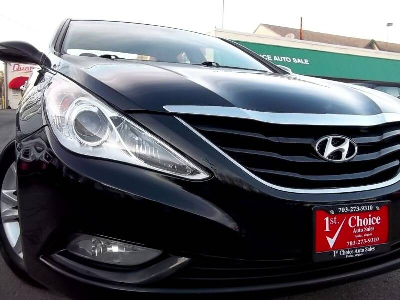 2013 Hyundai Sonata for sale at 1st Choice Auto Sales in Fairfax VA