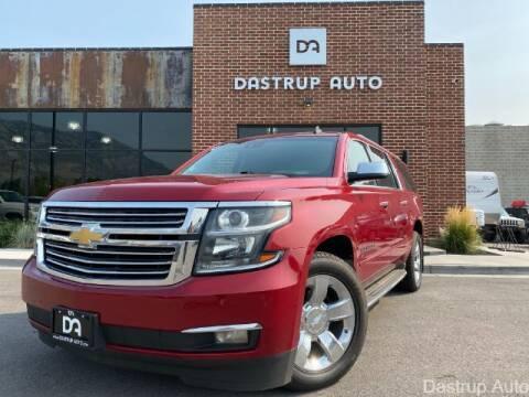 2015 Chevrolet Suburban for sale at Dastrup Auto in Lindon UT