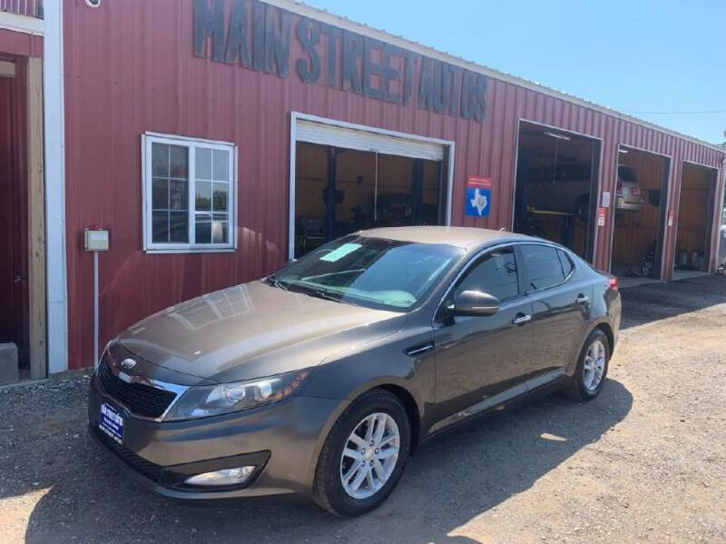 2013 Kia Optima for sale at Main Street Autos Sales and Service LLC in Whitehouse TX