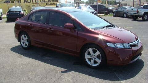 2006 Honda Civic for sale at Red Rock Auto LLC in Oklahoma City OK
