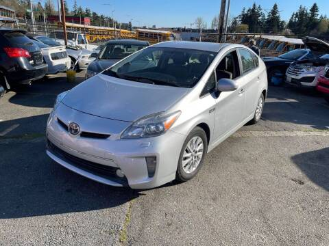 2012 Toyota Prius Plug-in Hybrid for sale at SNS AUTO SALES in Seattle WA