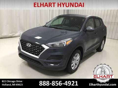 2021 Hyundai Tucson for sale at Elhart Automotive Campus in Holland MI
