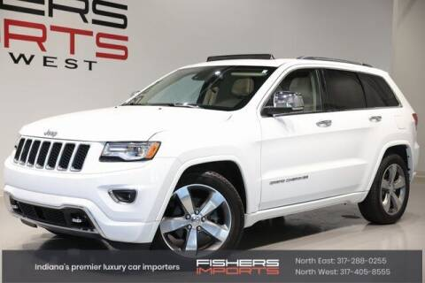 2015 Jeep Grand Cherokee for sale at Fishers Imports in Fishers IN