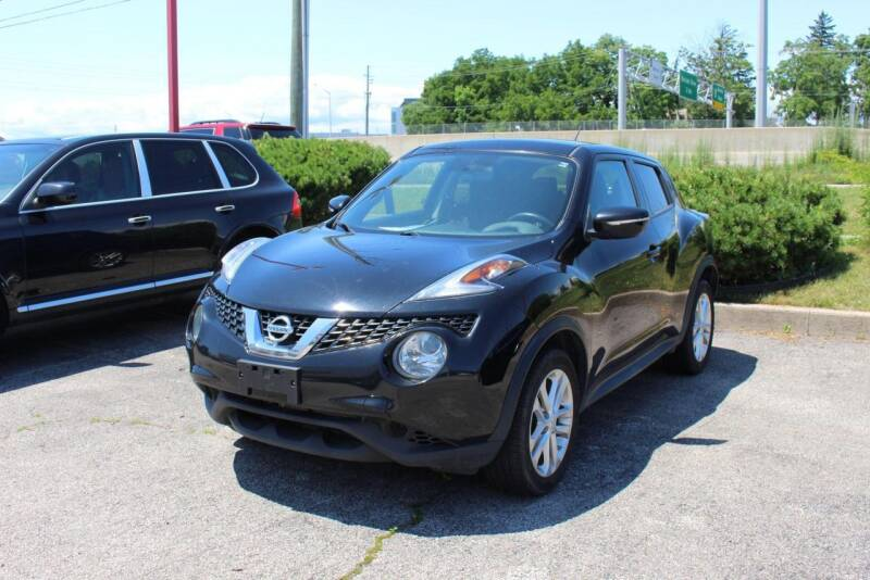 2015 Nissan JUKE for sale at Peninsula Motor Vehicle Group in Oakville NY