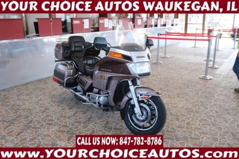 1986 Honda GL1200A Aspencade for sale at Your Choice Autos - Waukegan in Waukegan IL