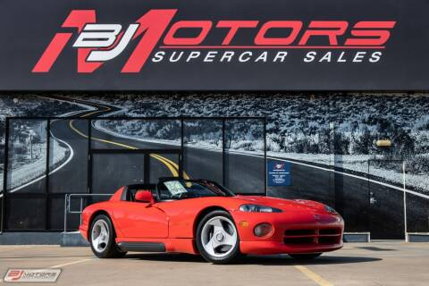 1992 Dodge Viper for sale at BJ Motors in Tomball TX