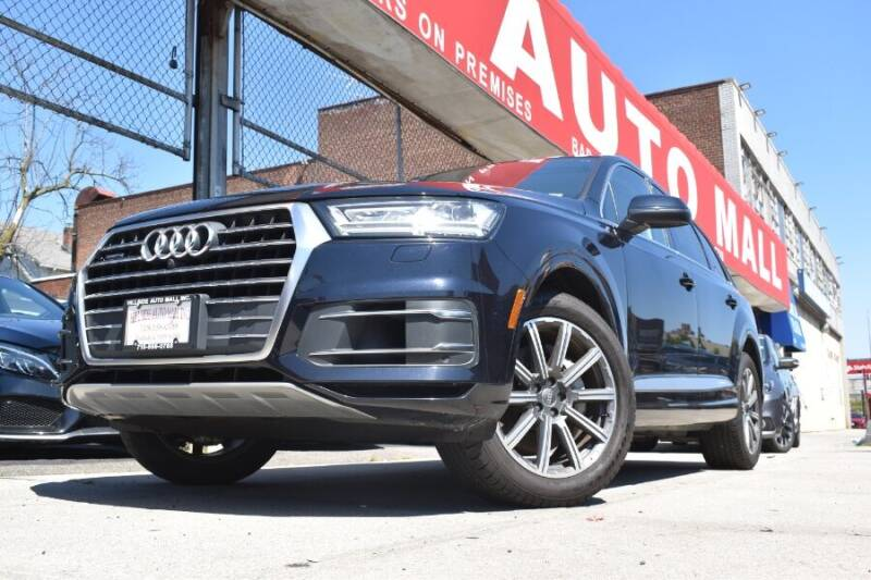 2017 Audi Q7 for sale at HILLSIDE AUTO MALL INC in Jamaica NY