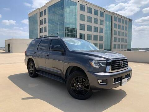2018 Toyota Sequoia for sale at SIGNATURE Sales & Consignment in Austin TX