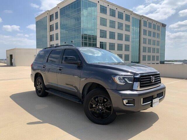 2018 Toyota Sequoia for sale at SIGNATURE Sales & Consignment in Austin TX