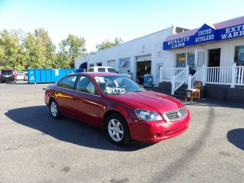 2006 Nissan Altima for sale at United Auto Land in Woodbury NJ