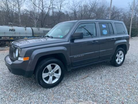 2016 Jeep Patriot for sale at Reds Garage Sales Service Inc in Bentleyville PA