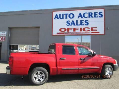 2005 Dodge Dakota for sale at Auto Acres in Billings MT