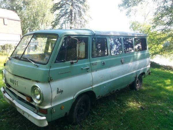 1968 Dodge Ram Van for sale at Haggle Me Classics in Hobart IN