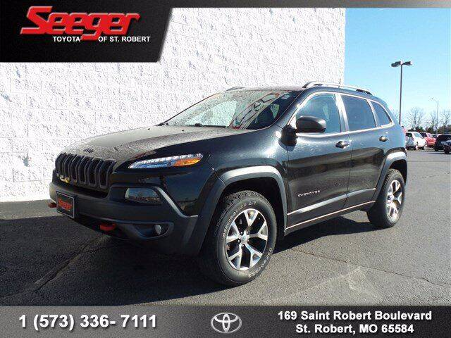 2016 Jeep Cherokee for sale at SEEGER TOYOTA OF ST ROBERT in St Robert MO