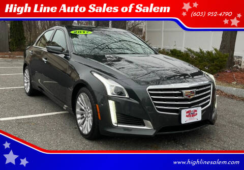 2017 Cadillac CTS for sale at High Line Auto Sales of Salem in Salem NH