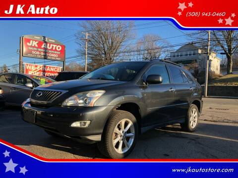 2008 Lexus RX 350 for sale at Webster Auto Sales in Webster MA