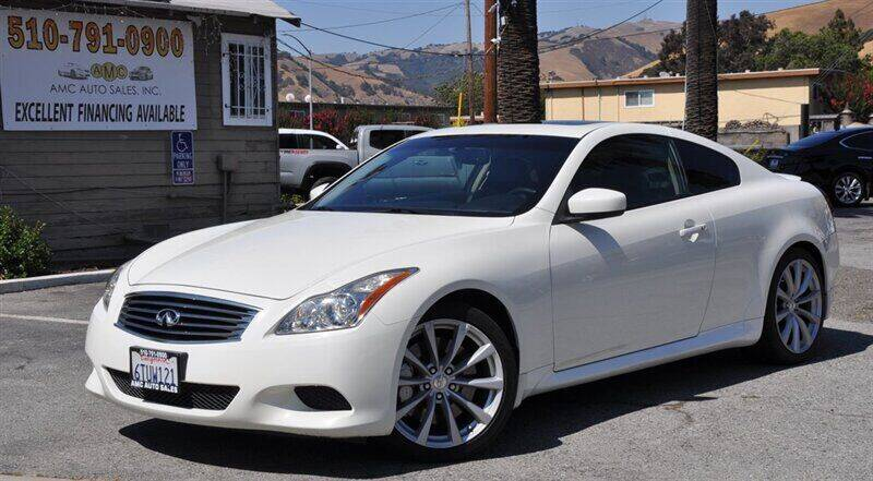 2008 Infiniti G37 for sale at AMC Auto Sales, Inc. in Fremont CA