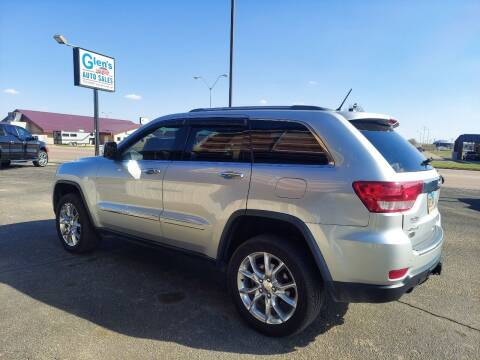 2012 Jeep Grand Cherokee for sale at Glen's Auto Sales in Watertown SD